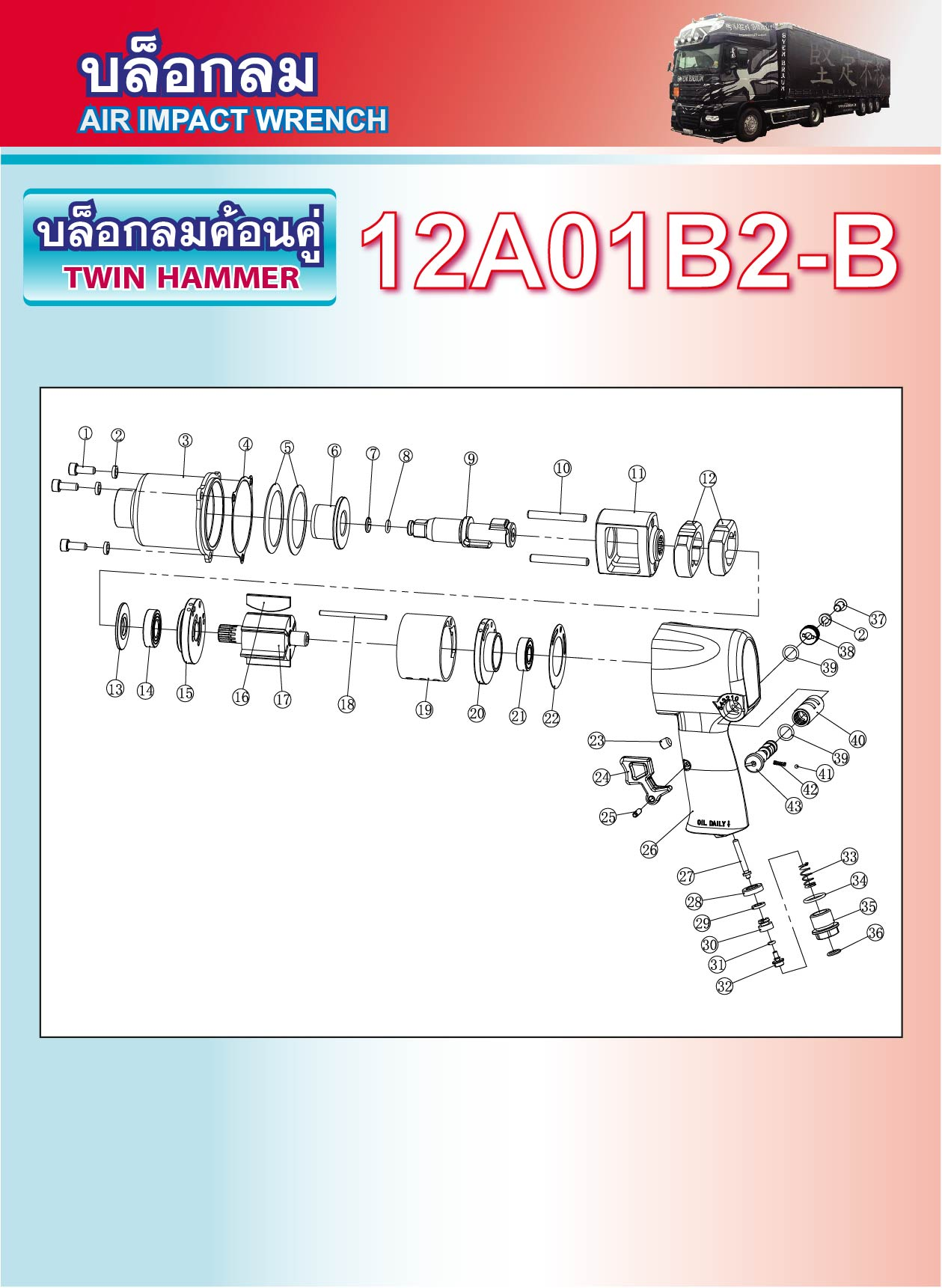 (49/226) บล็อกลม 12A01B2-B