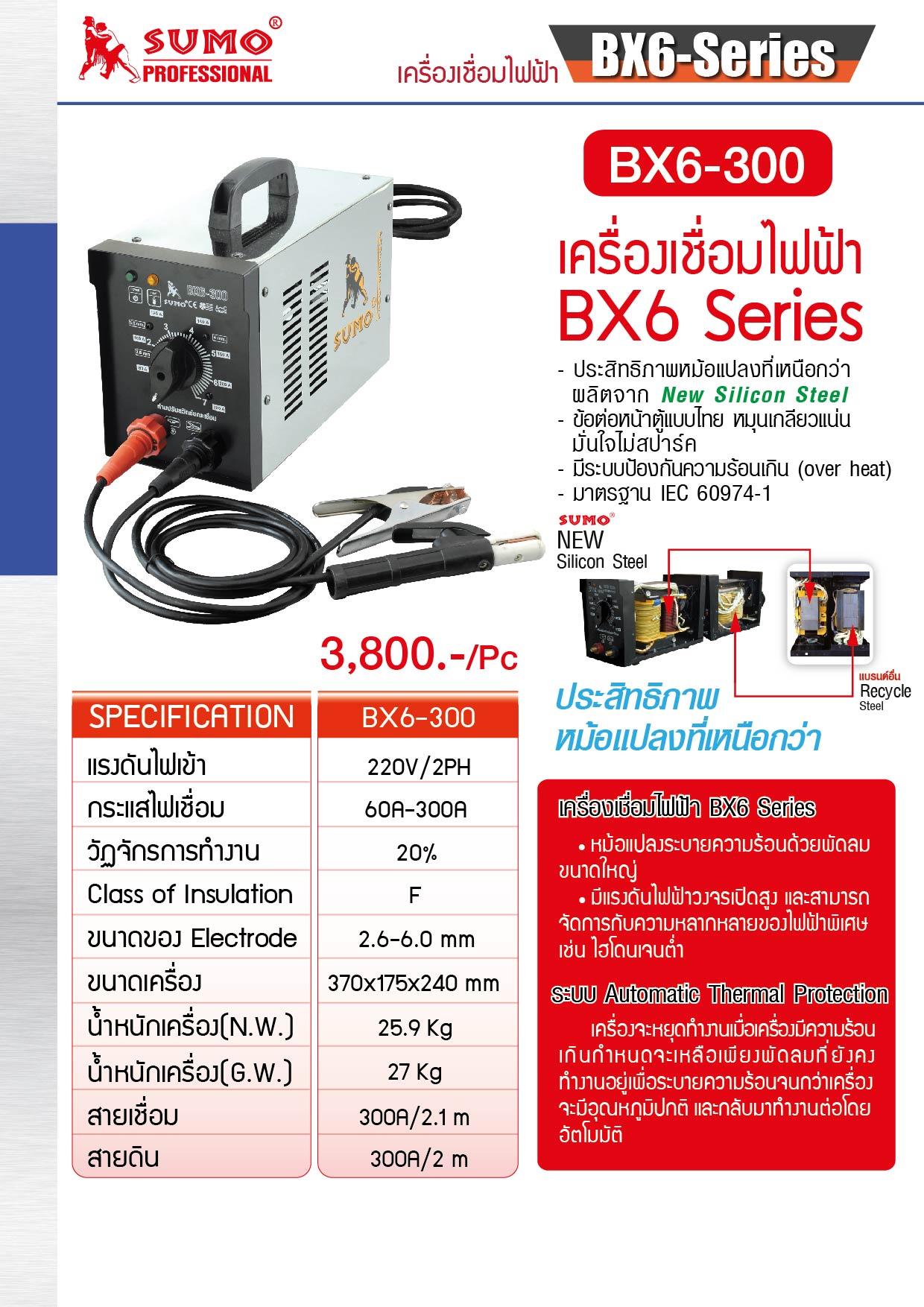 เครื่องเชื่อมไฟฟ้า - Welding Machine BX1-250C Series