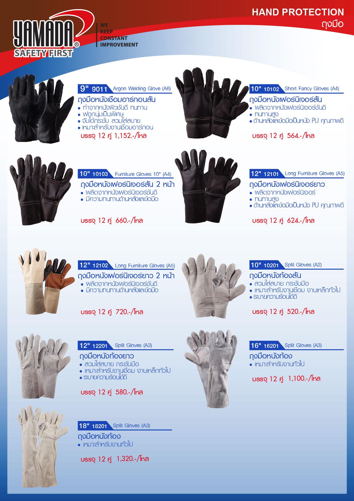 (241/271) ถุงมือ