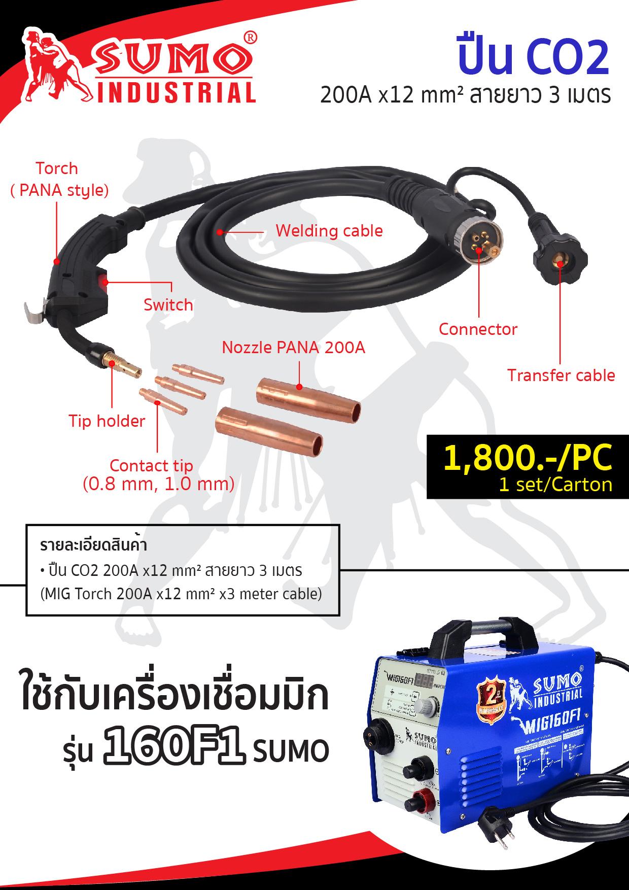 (2/18) อุปกรณ์เสริม MIG160F1