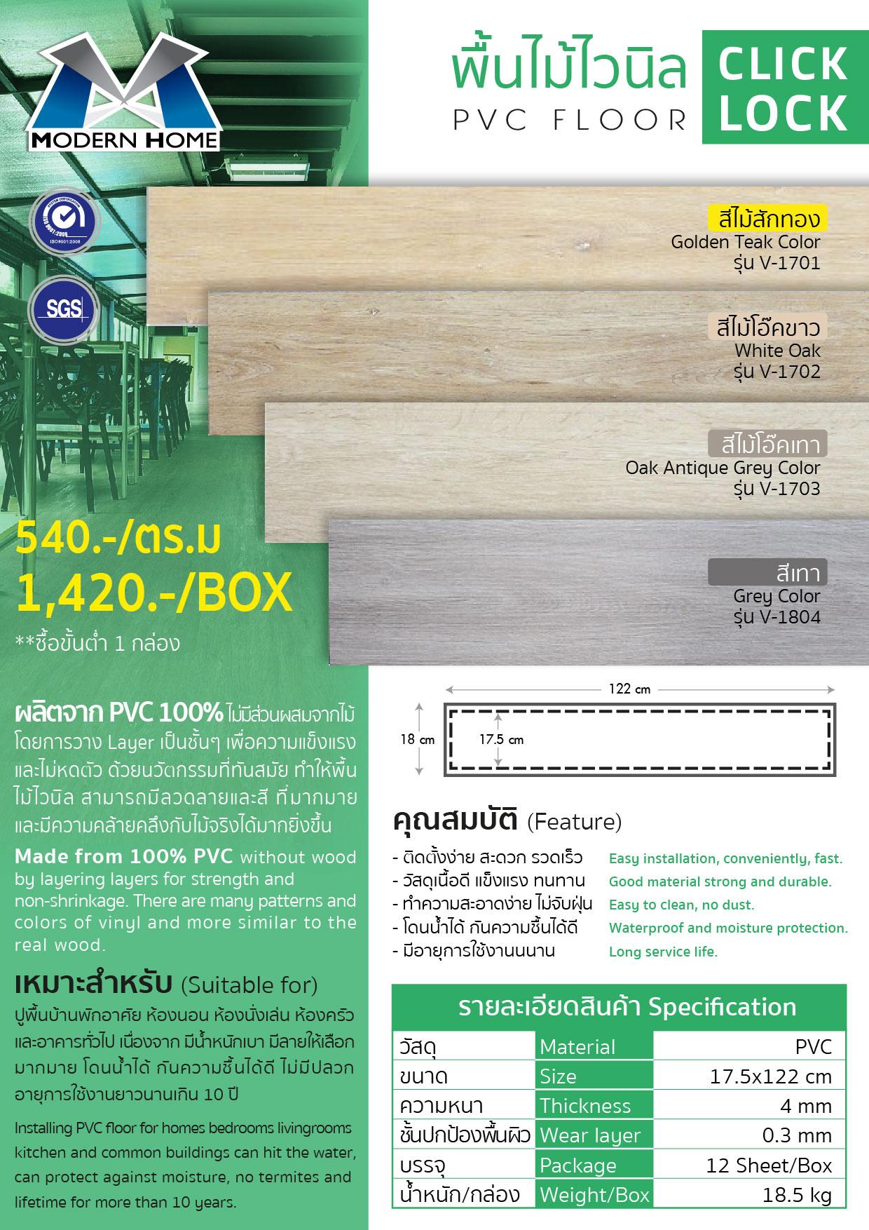 (6/87) PVC Floor