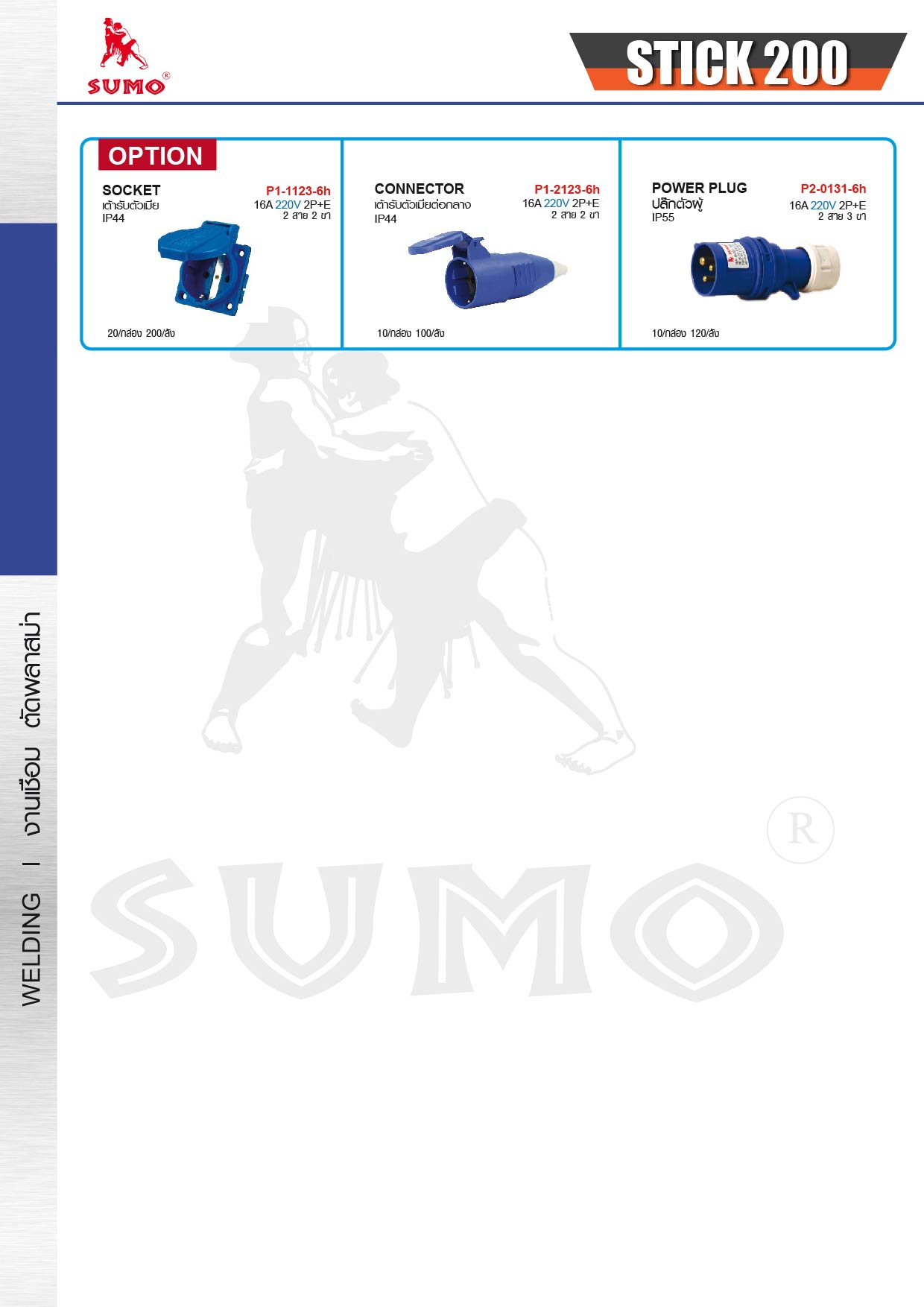 (13/14) เครื่องเชื่อมไฟฟ้า - Welding Machine Boxing mini200A