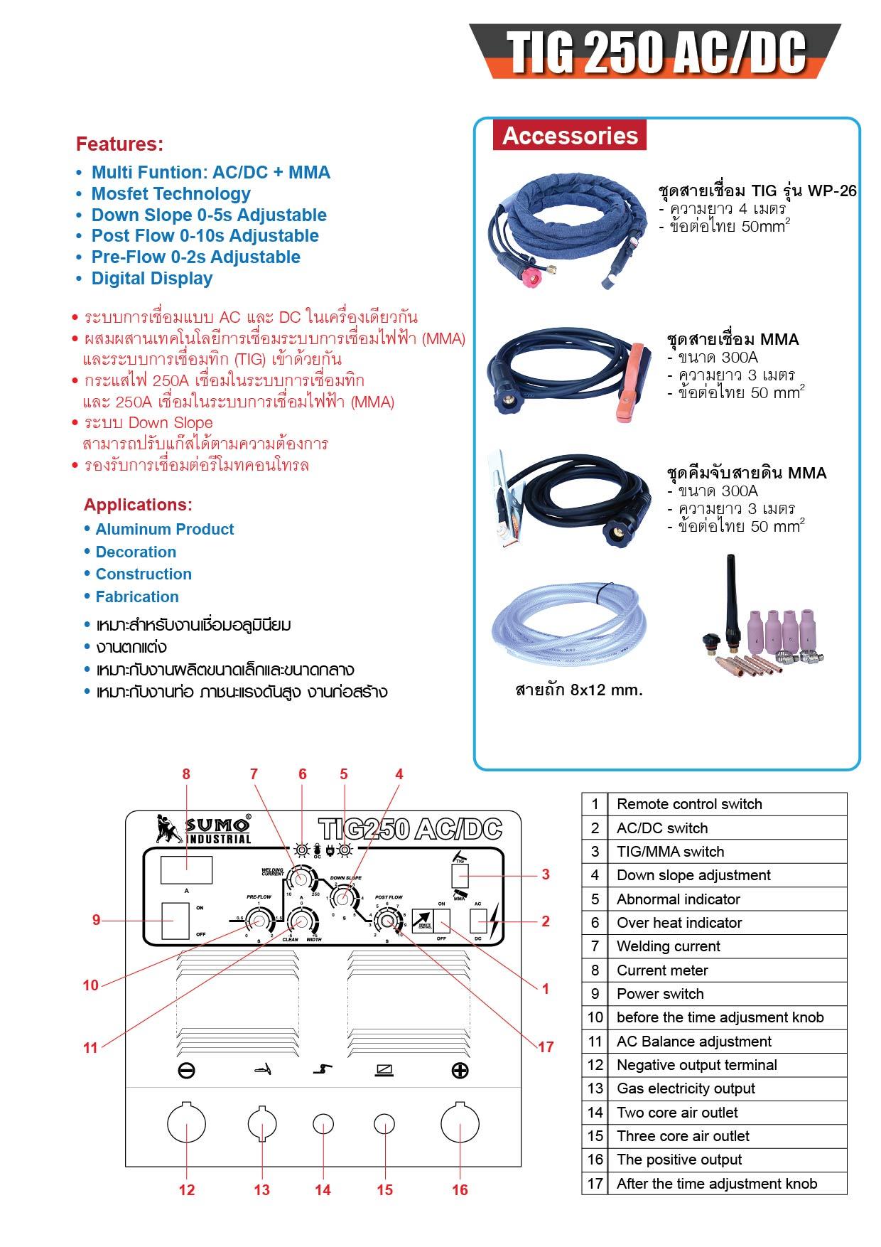 (74/240) Tig &Stick-300A