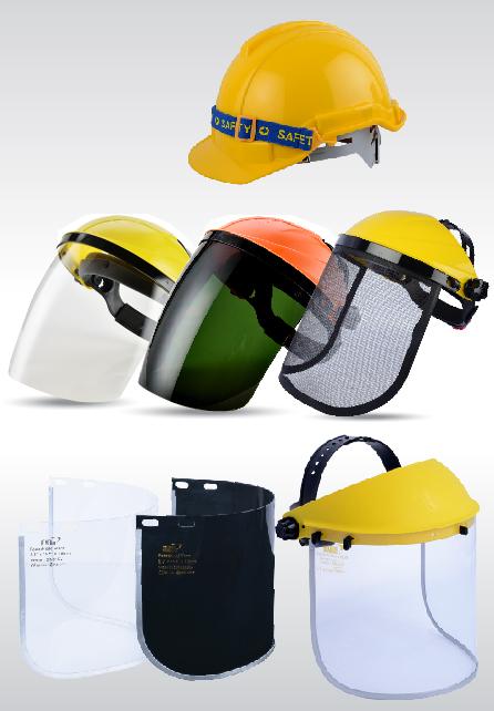 อุปกรณ์ป้องกันศีรษะและใบหน้า